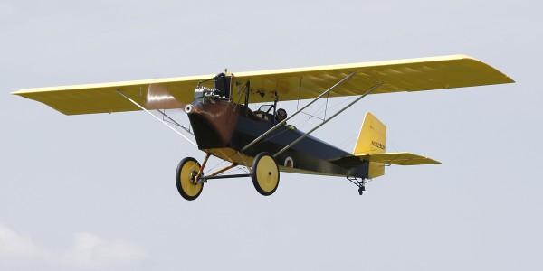 Daniel W Helsper spent ten years building this Pietenpol Aircamper.