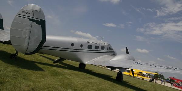 Beech C-45H.