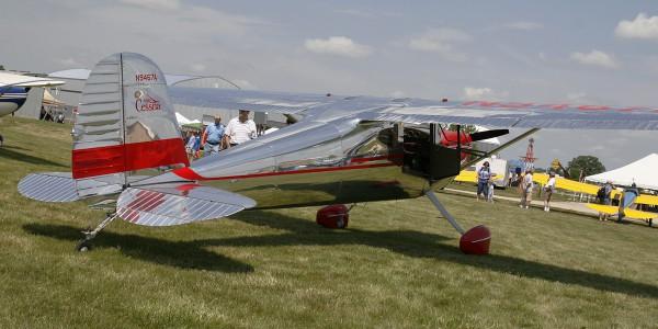 Beautiful 1950 Cessna 140A.