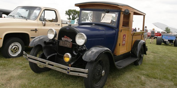 1928 ord Model A Pick Up.