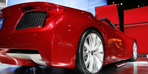 From 2008, this first incarnation of the Lexus LF-A is in my 0pinion the best looking.