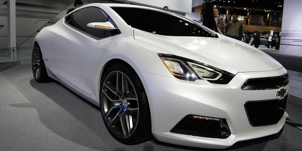 Built on the Chevy Cruze platform, is the oddly named Chevy Tru 140S coupe.
